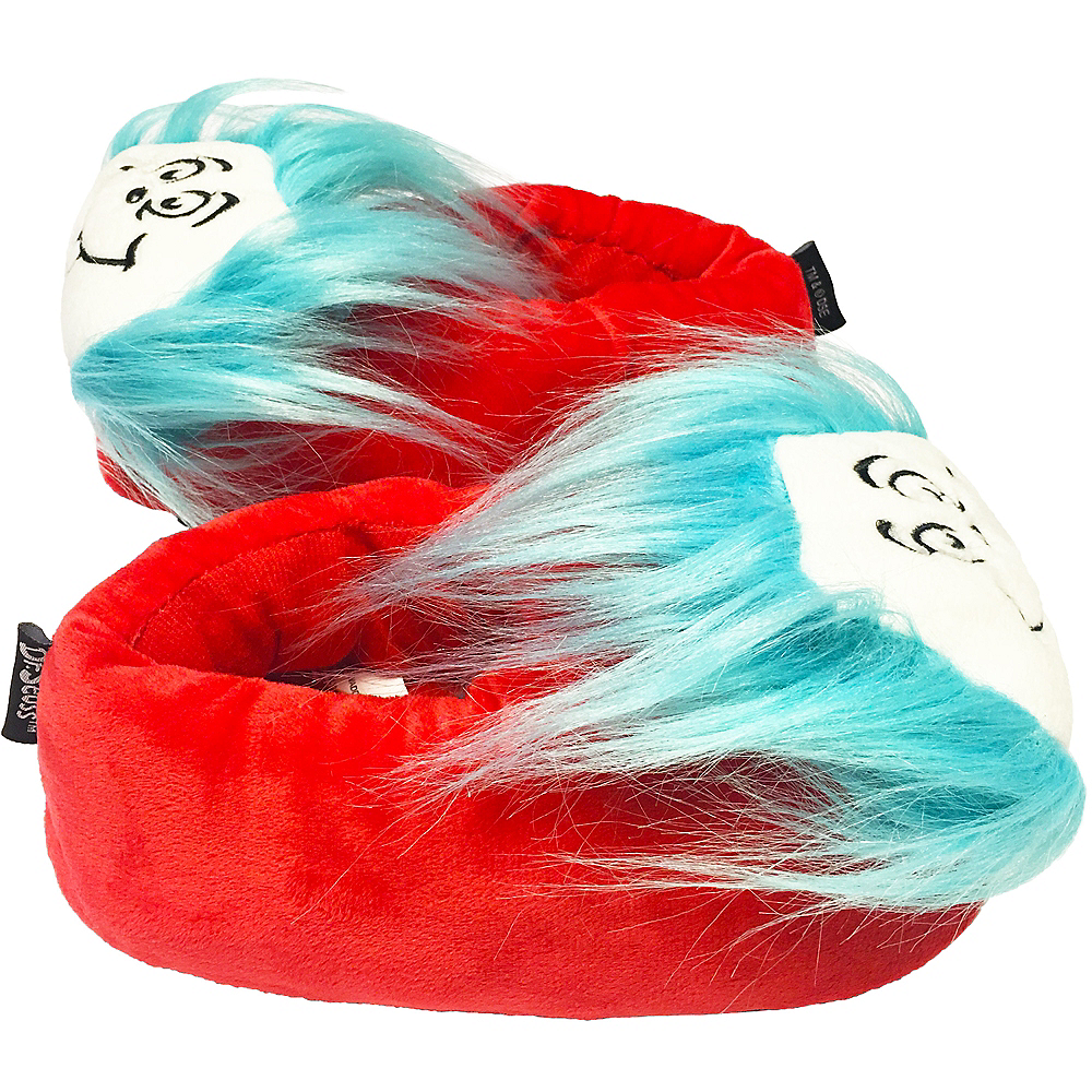 Red Thing 1 & 2 Slipper Shoes - Dr. Seuss Image #2