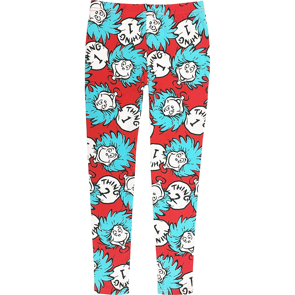 Child Thing 1 & 2 Lounge Leggings - Dr. Seuss Image #2