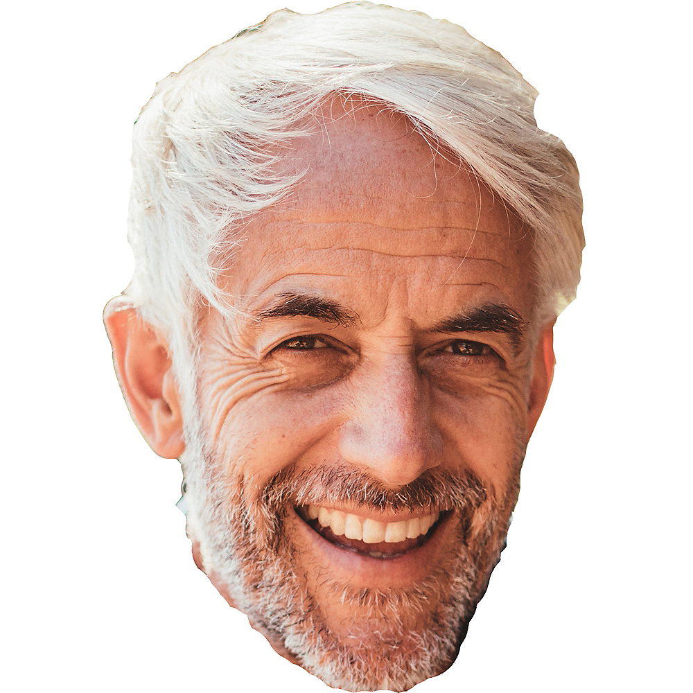Custom Retirement Big Head Image #1