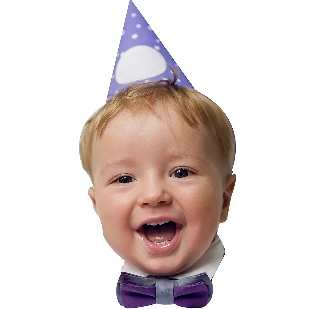 Custom 1st Birthday Big Head Image #1