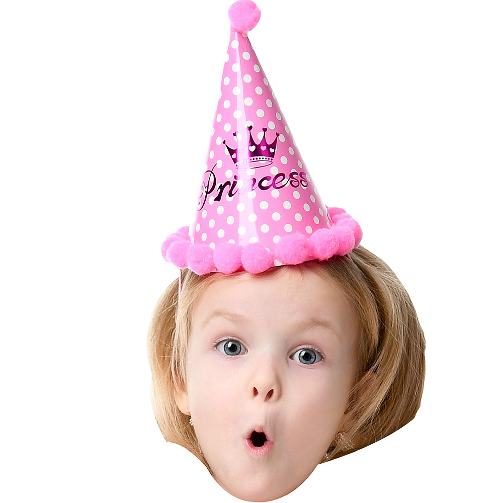 Custom Girls Birthday Big Head Image #1