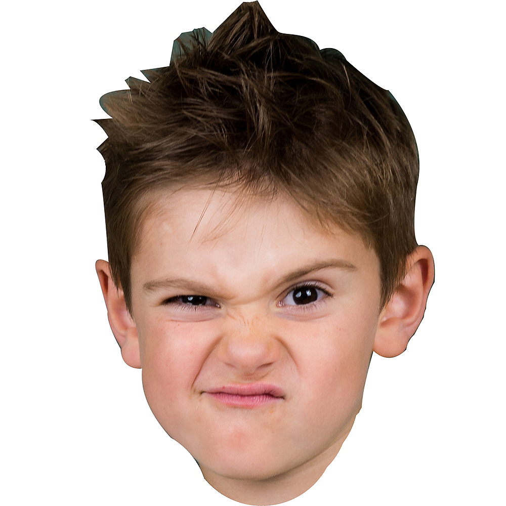 Custom Boys Birthday Big Head Image #1