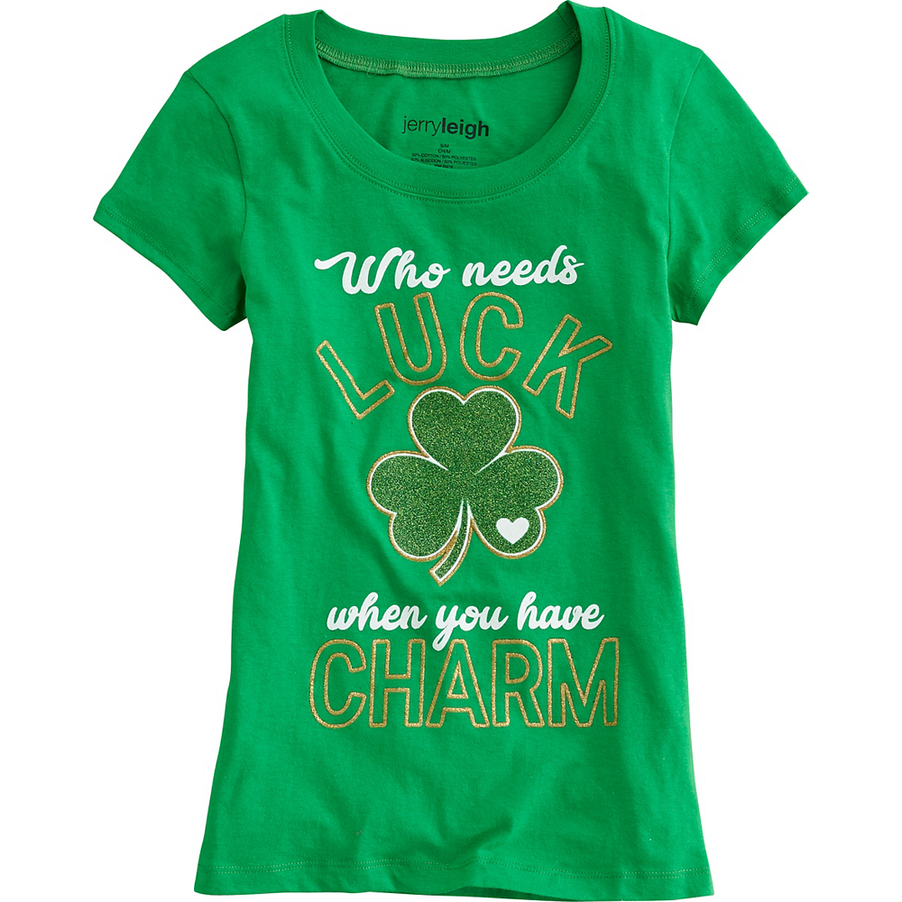 Adult Who Needs Luck St. Patrick's Day T-Shirt Image #1