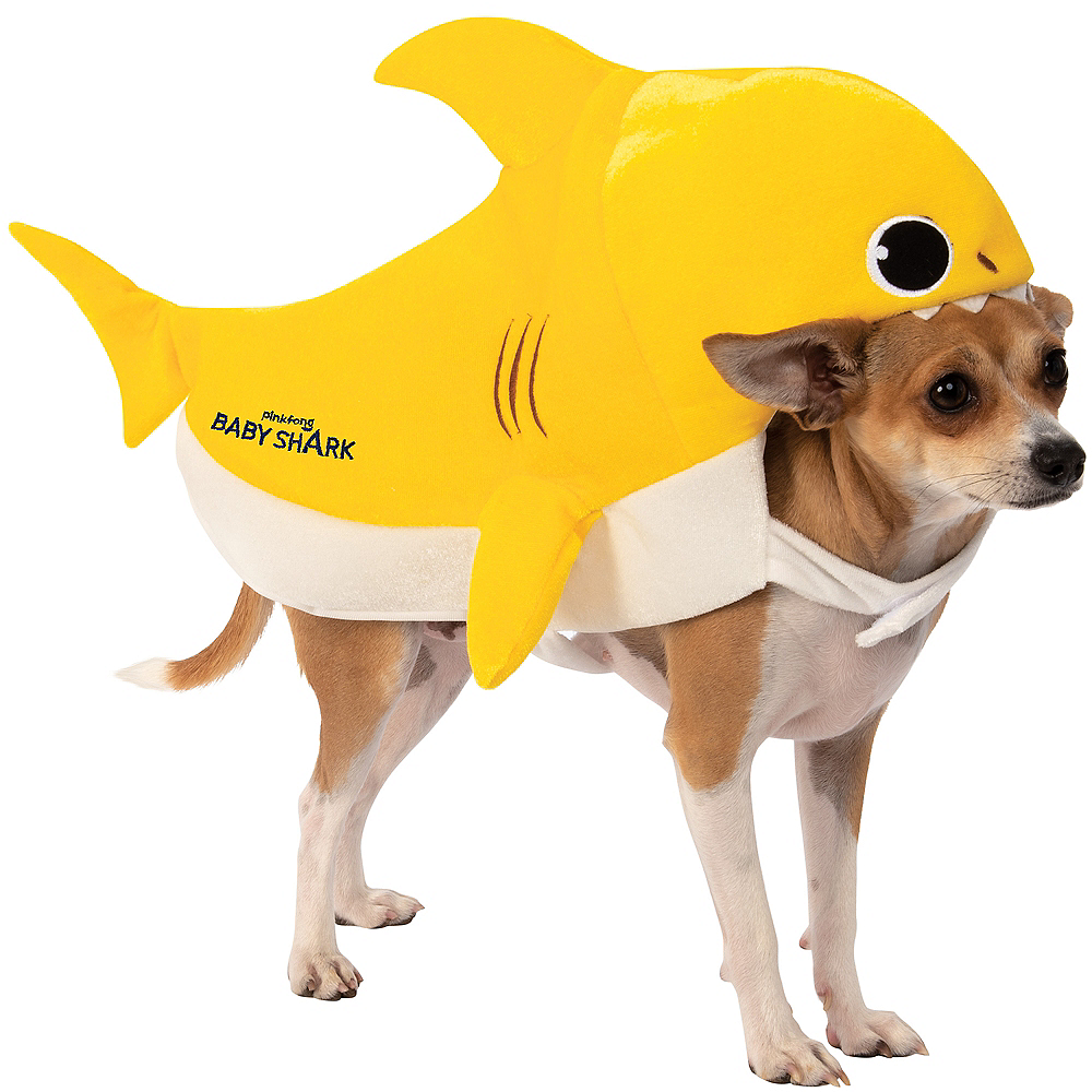 Baby Shark Dog Costume Image #1