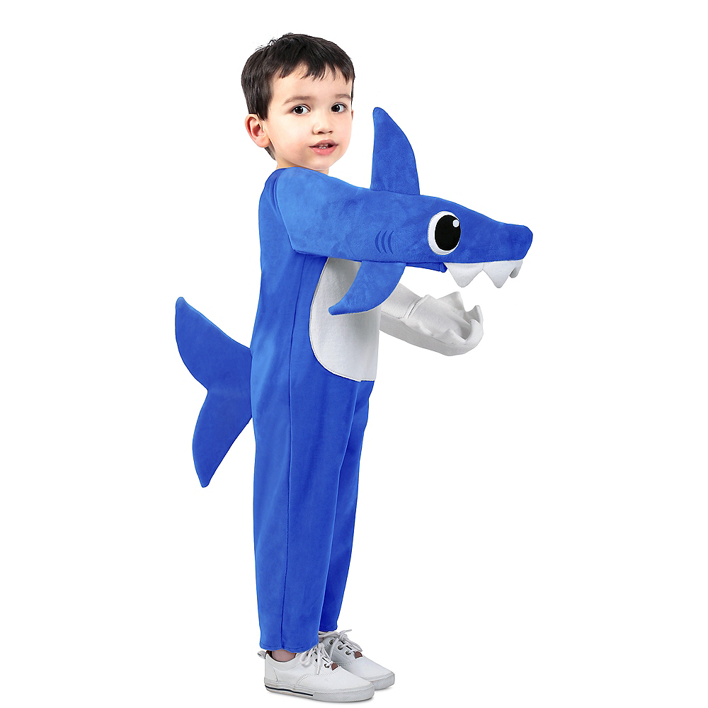 Child Singing Daddy Shark Costume Image #1