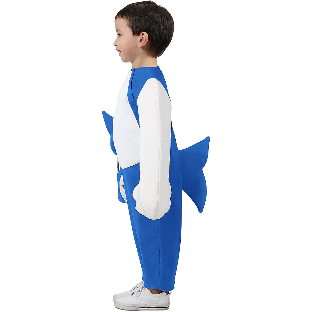 Child Singing Daddy Shark Costume Image #3
