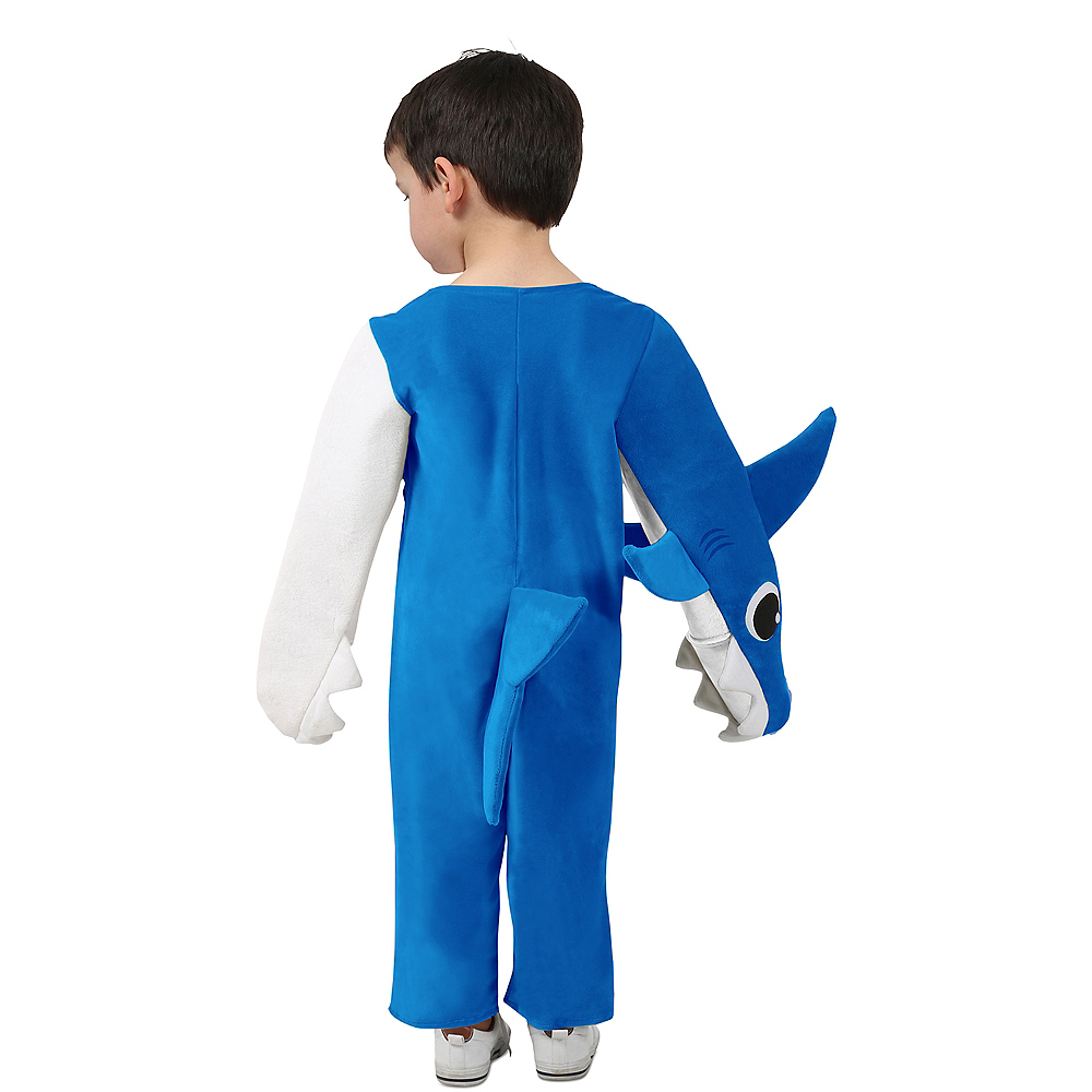 Child Singing Daddy Shark Costume Image #4