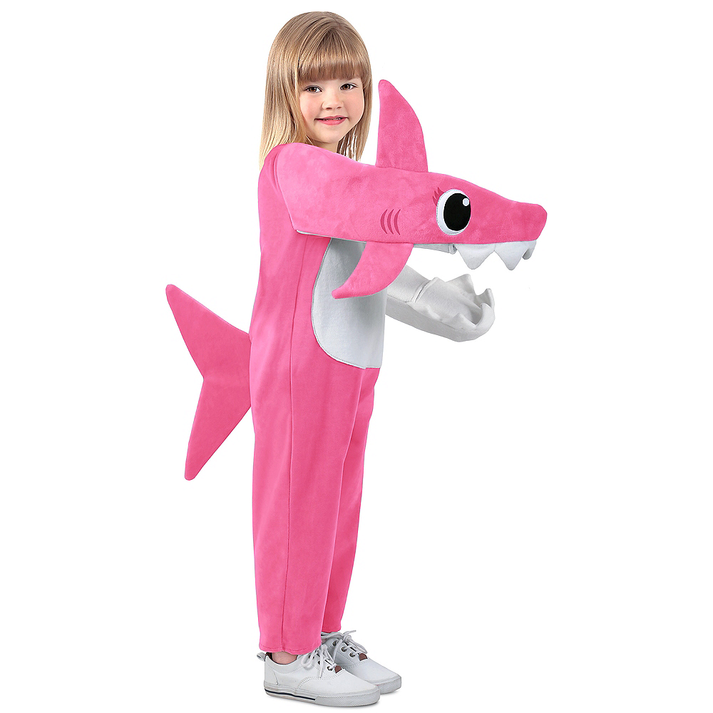 Child Singing Mommy Shark Costume Image #1