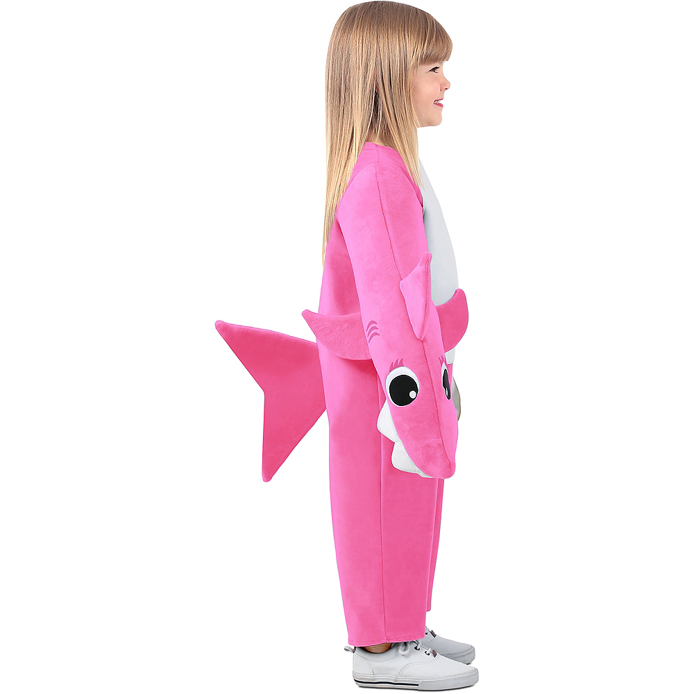 Child Singing Mommy Shark Costume Image #2
