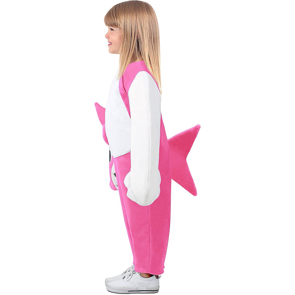 Child Singing Mommy Shark Costume Image #3