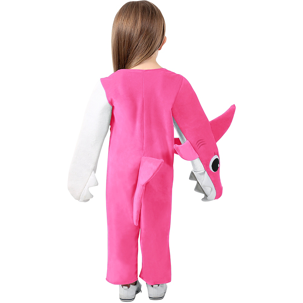 Child Singing Mommy Shark Costume Image #4