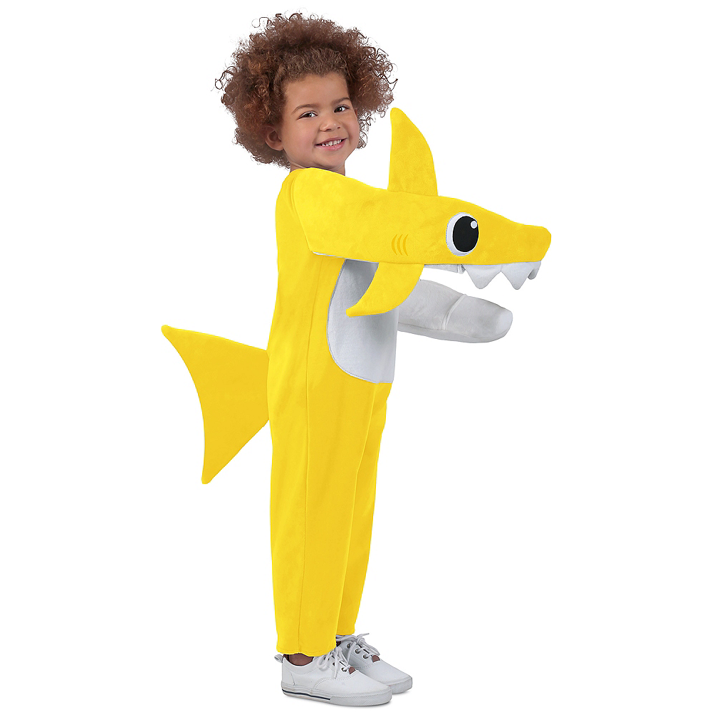 Child Singing Baby Shark Costume Image #1