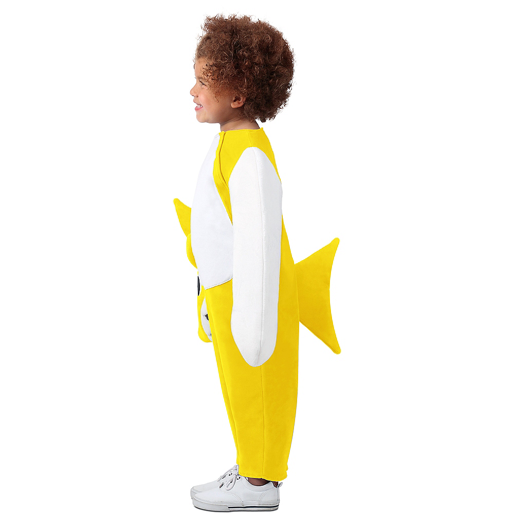 Child Singing Baby Shark Costume Image #3