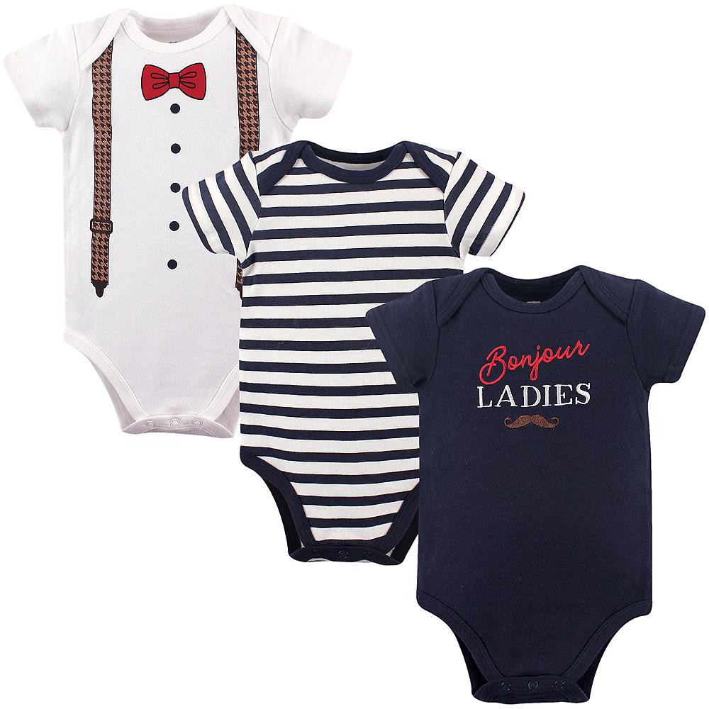 Bonjour Ladies Hudson Baby Bodysuits, 3-Pack Image #1