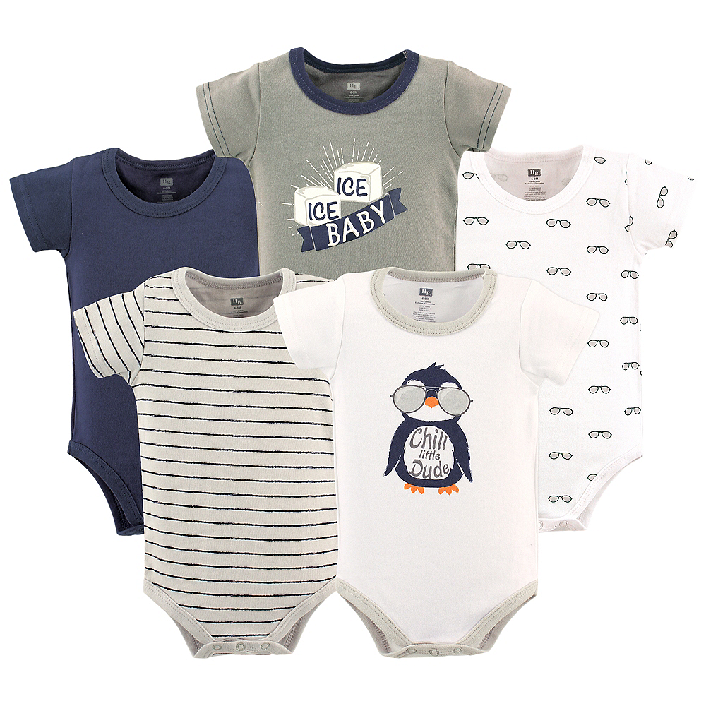Chill Dude Hudson Baby Bodysuits, 5-Pack Image #1