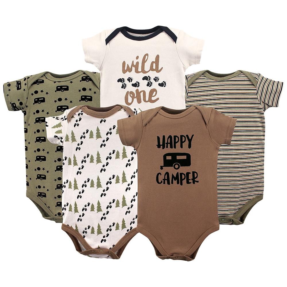 Happy Camper Luvable Friends Bodysuits, 5-Pack Image #1