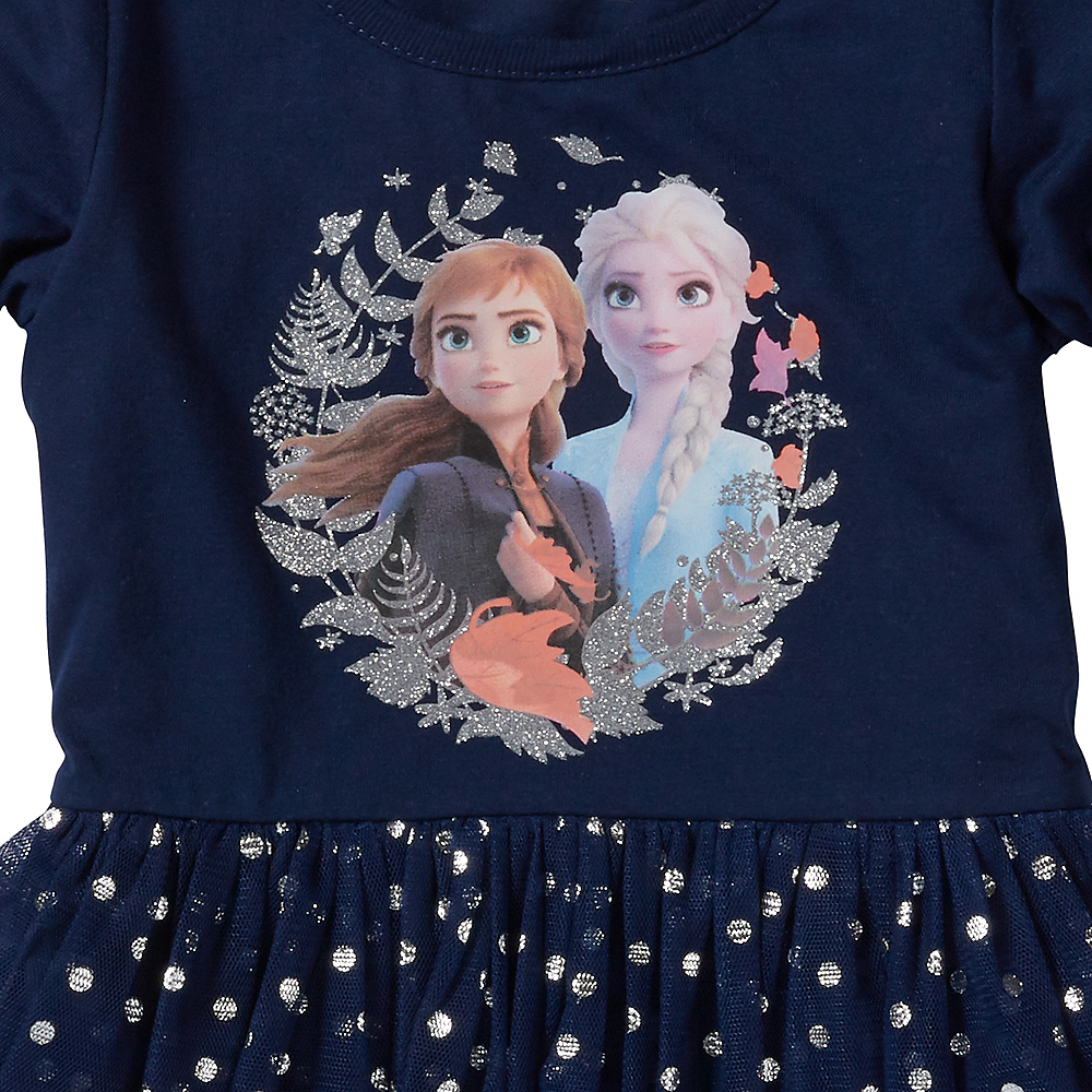 Child Frozen 2 Long-Sleeve Dress Image #2