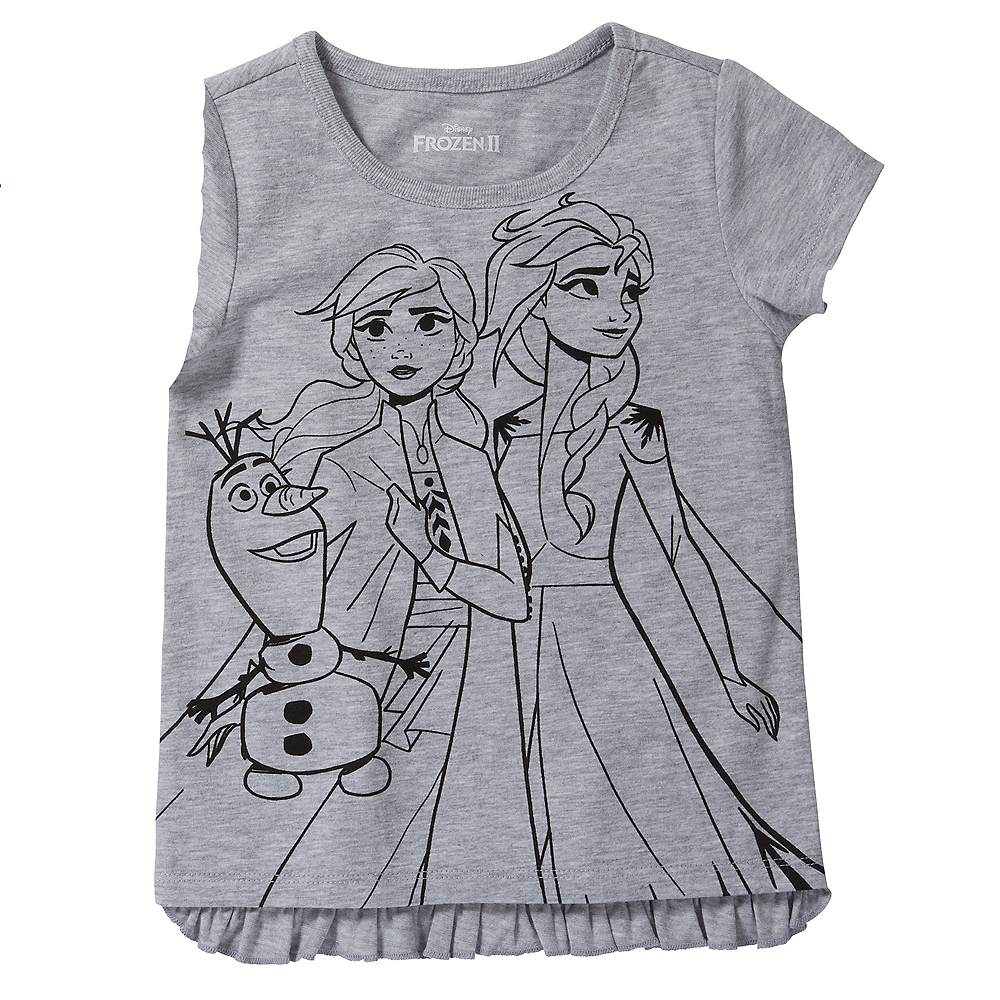 Child Frozen 2 T-Shirts 2ct Image #3