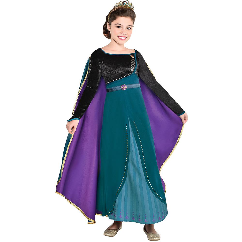Child Epilogue Anna Costume - Frozen 2 Image #1
