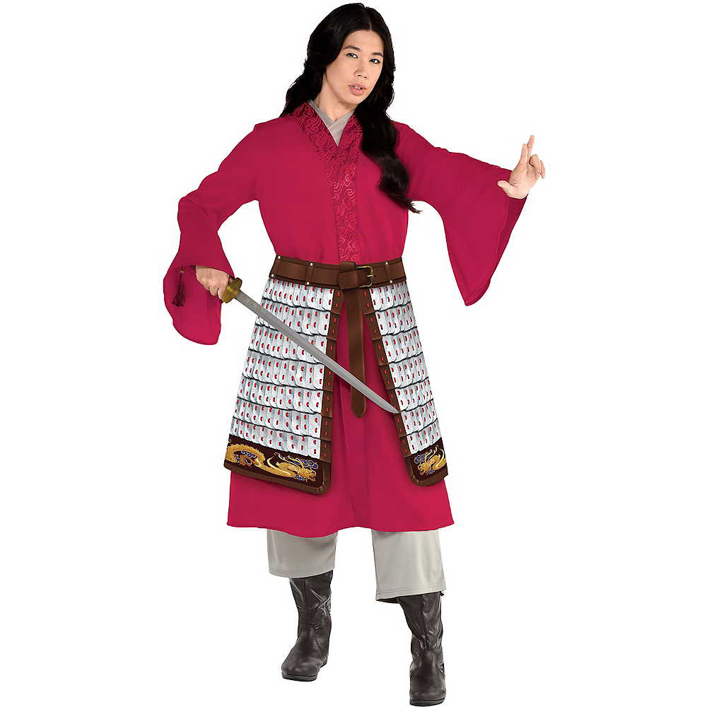 Adult Mulan Costume Plus Size Disney Mulan Live Action Party City