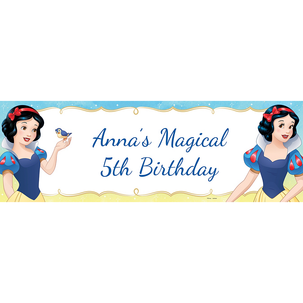 Custom Snow White Once Upon a Time Horizontal Banner Image #1