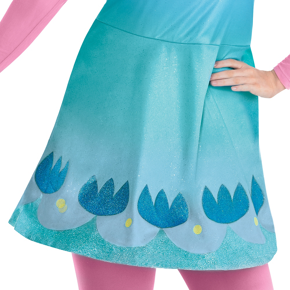 Adult Queen Poppy Costume Plus Size - Trolls World Tour Image #3
