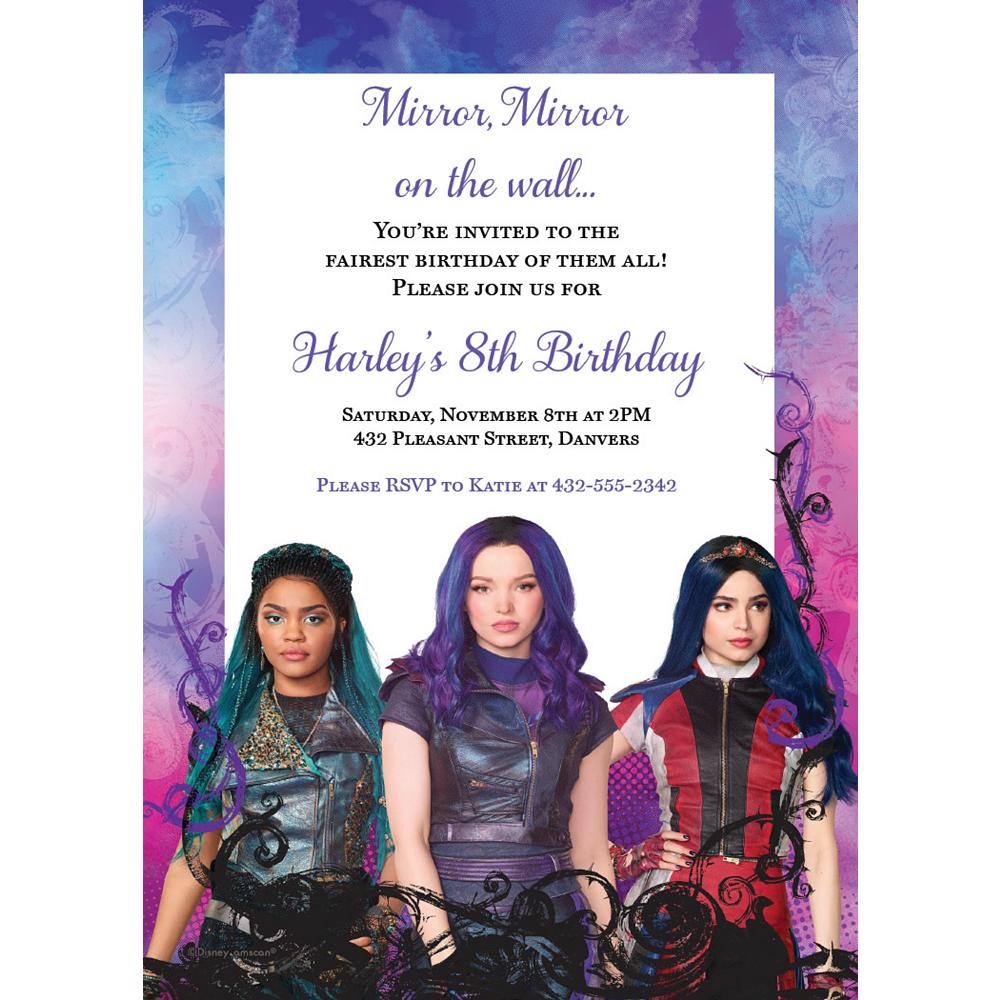 Custom Descendants 3 Invitations Image #1