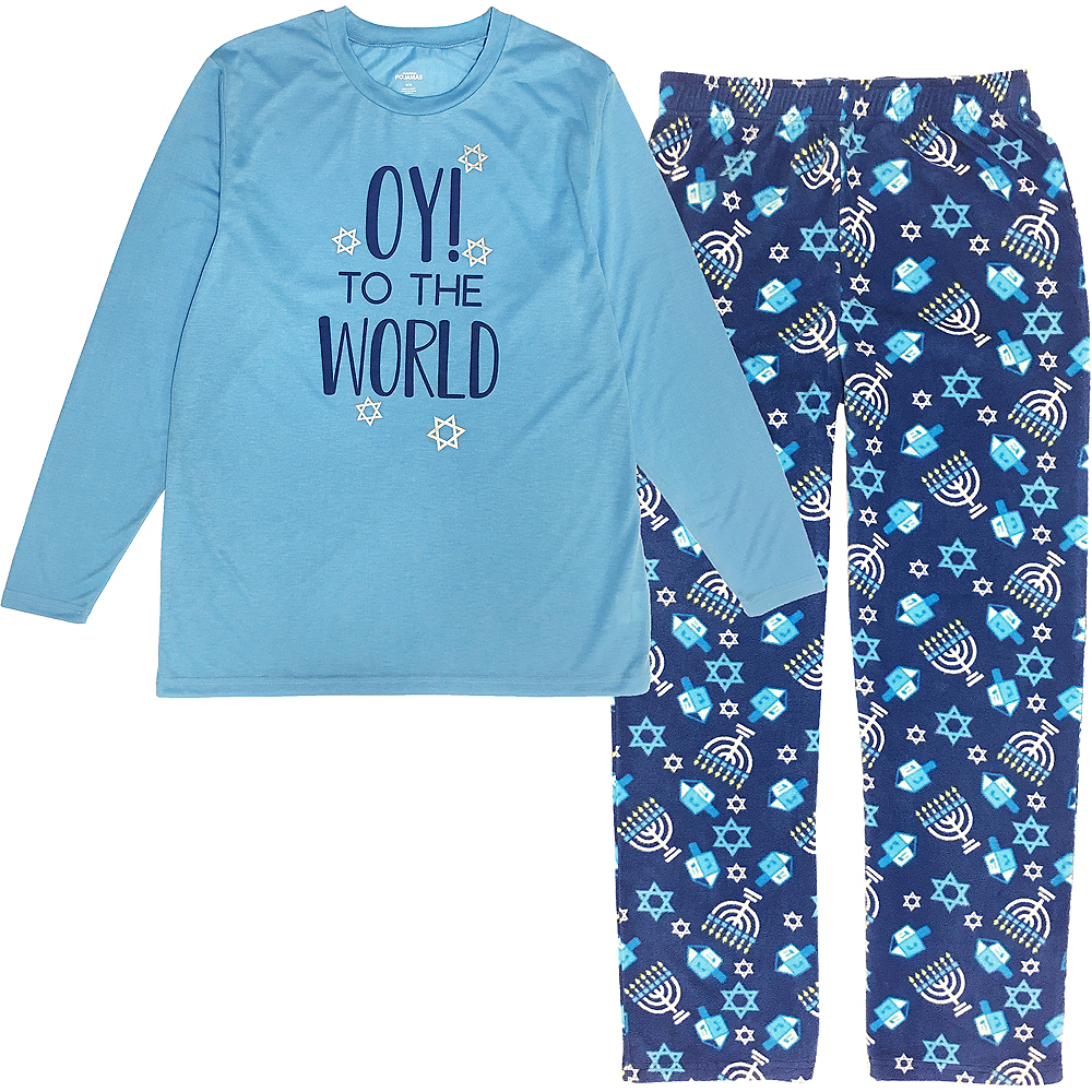 Adult Oy to the World Pajamas Image #1