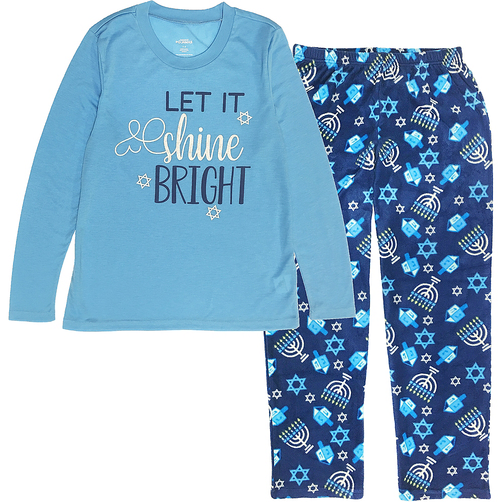 Nav Item for Adult Let it Shine Bright Pajamas Image #1
