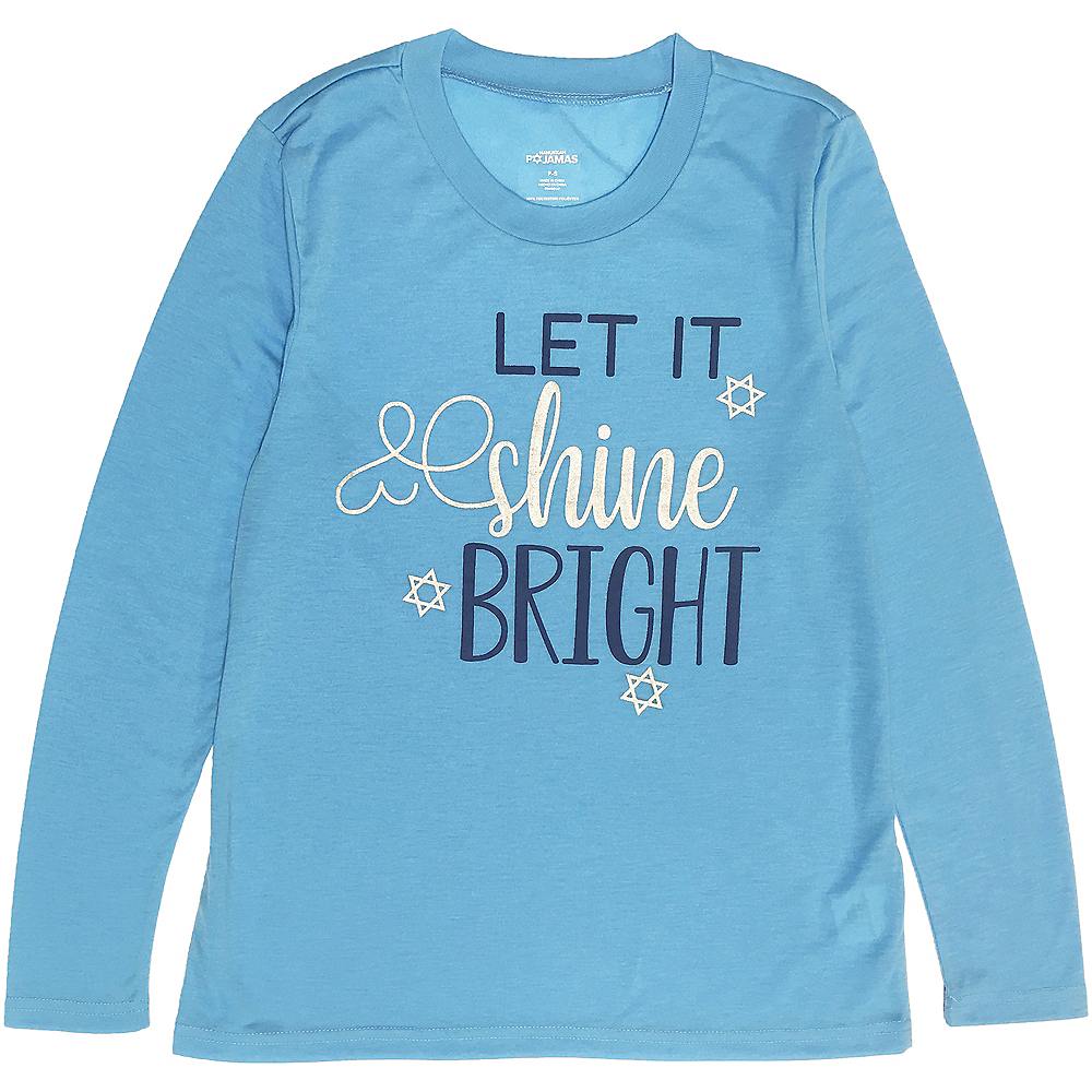 Nav Item for Adult Let it Shine Bright Pajamas Image #2