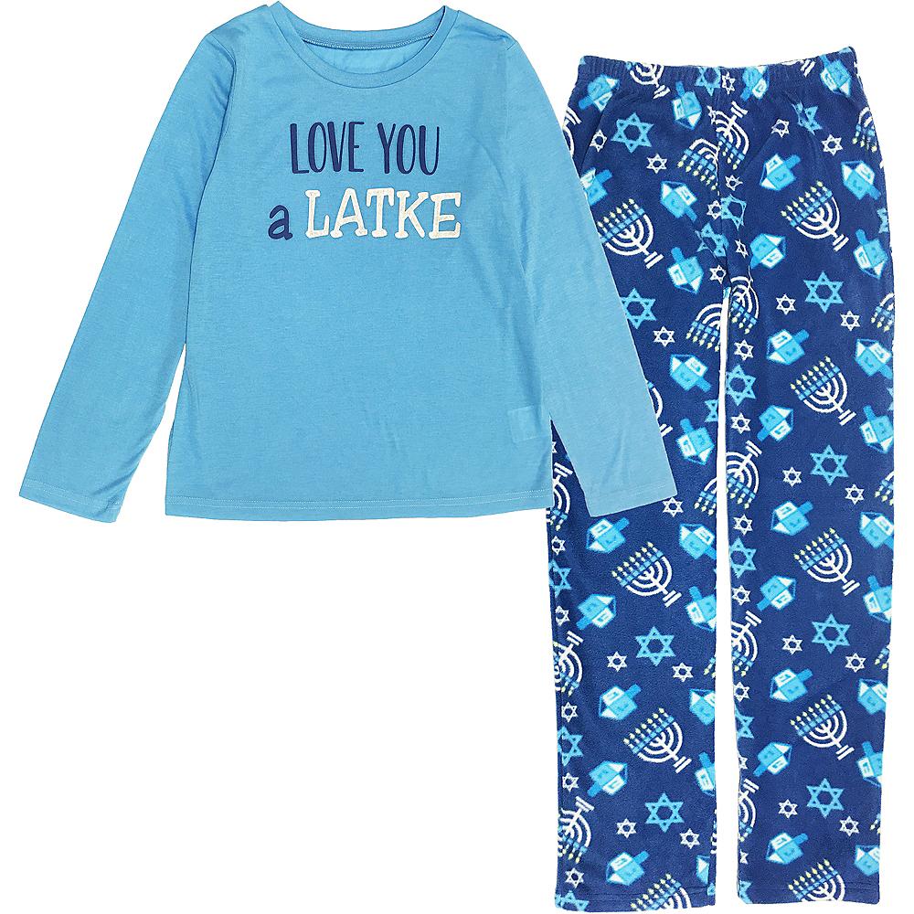 Child Love You a Latke Pajamas Image #1