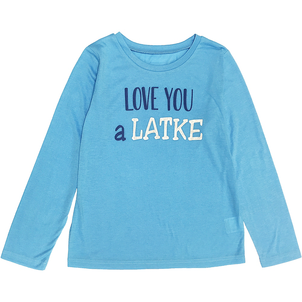 Child Love You a Latke Pajamas Image #2