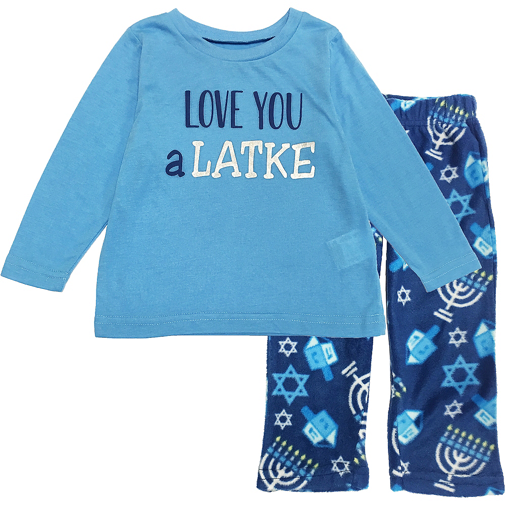 Toddler Love You a Latke Pajamas Image #1