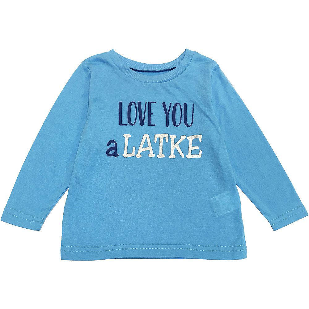 Toddler Love You a Latke Pajamas Image #2