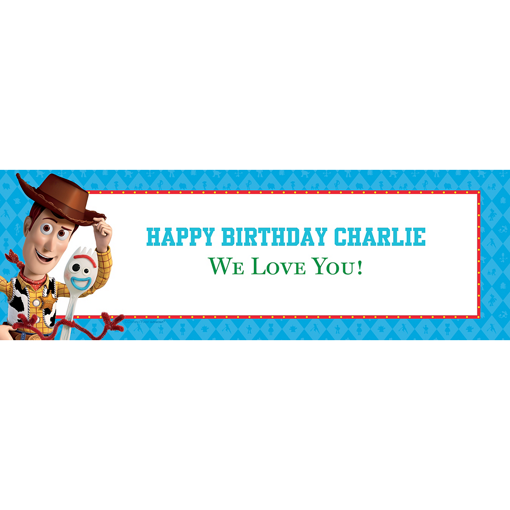 Custom Toy Story 4 Horizontal Banner Image #1