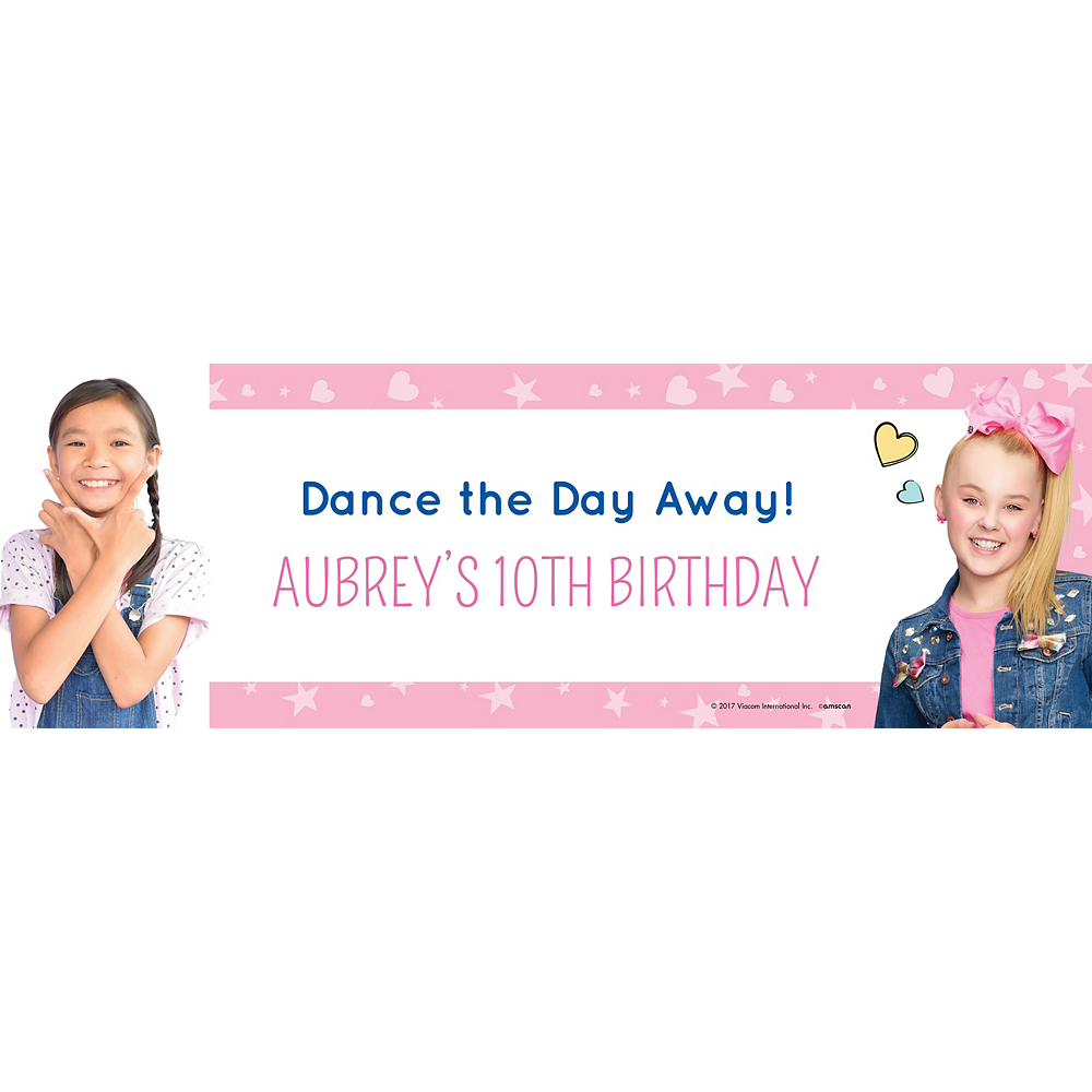 Nav Item for Custom JoJo Siwa Photo Horizontal Banner Image #1