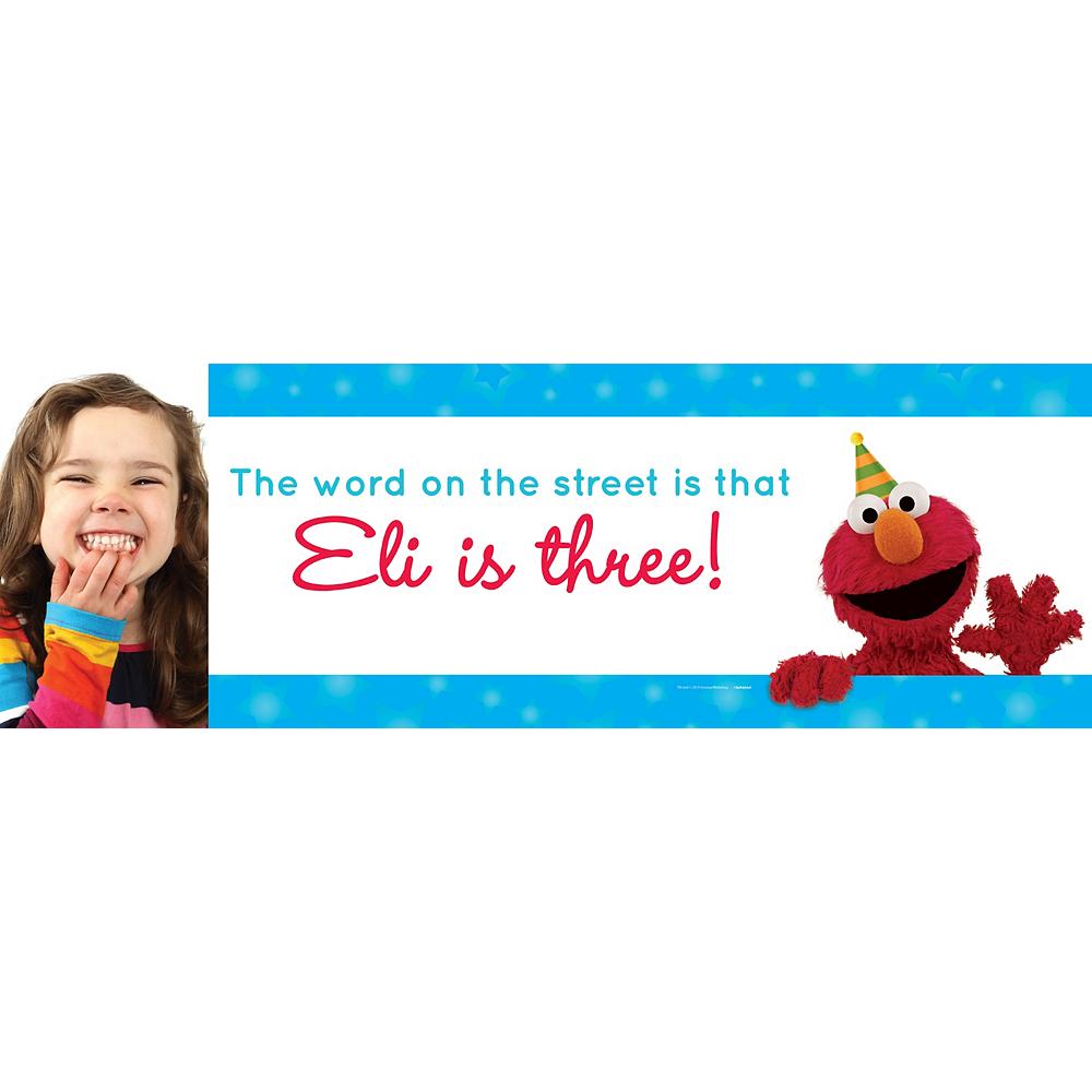 Custom Sesame Street Photo Horizontal Banner Image #1
