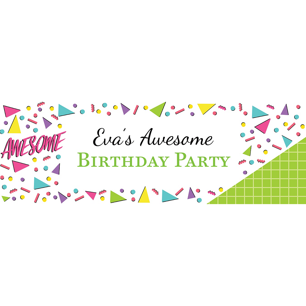 Custom Awesome Party Horizontal Banner Image #1
