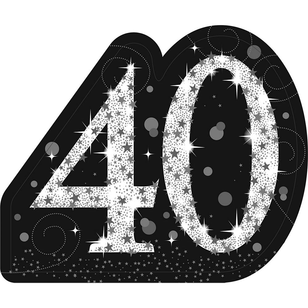 Sparkling Celebration 40 Standee Image #1