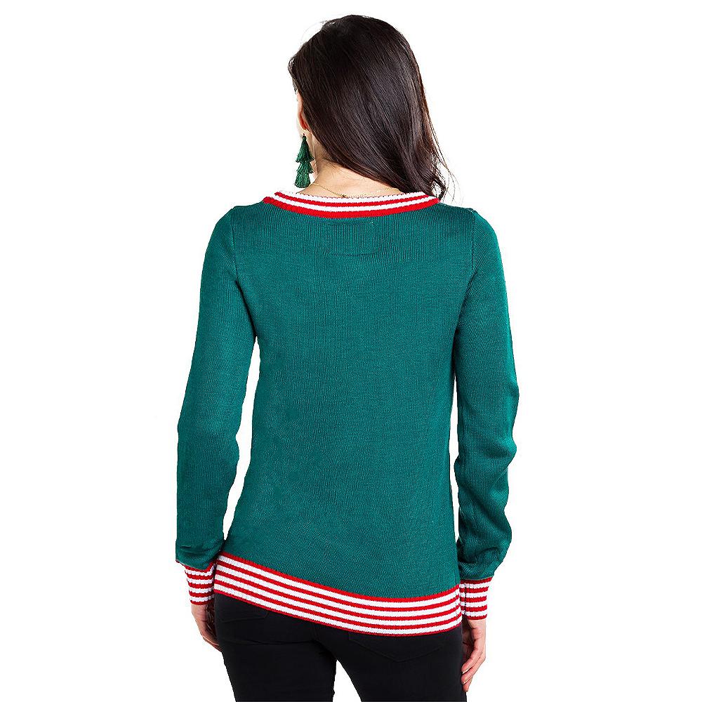 Adult Santa Breaks the Internet Ugly Christmas Sweater Image #2