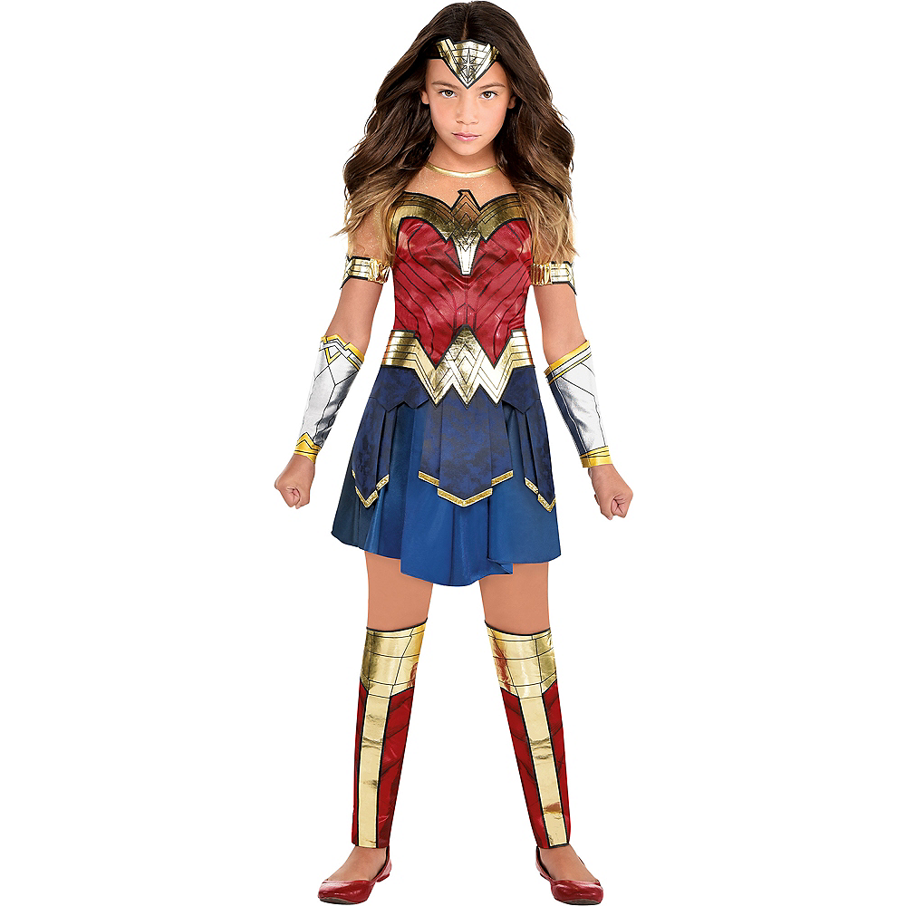 Child Wonder Woman Costume - WW 1984 Image #1