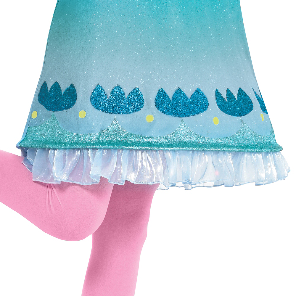 Child Queen Poppy Costume - Trolls World Tour Image #3