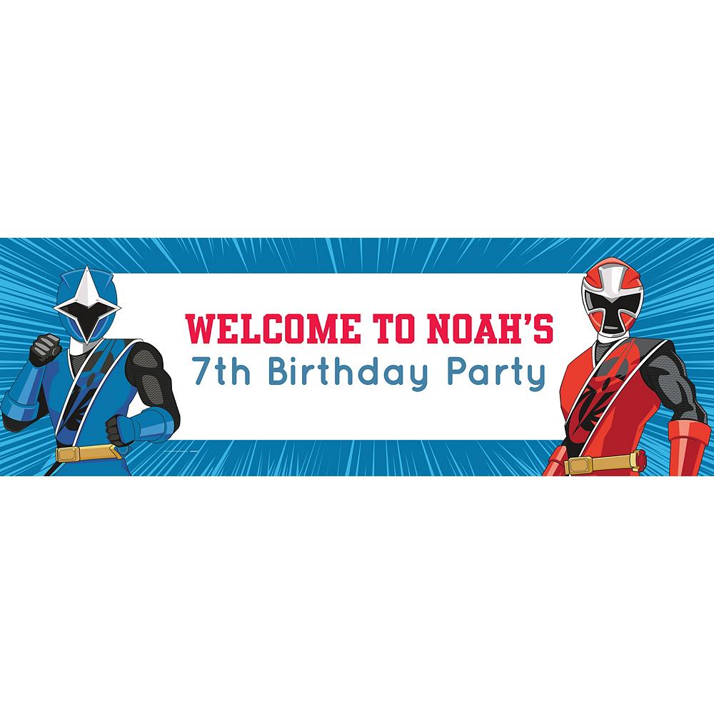 Custom Power Rangers Ninja Steel Horizontal Banner Image #1