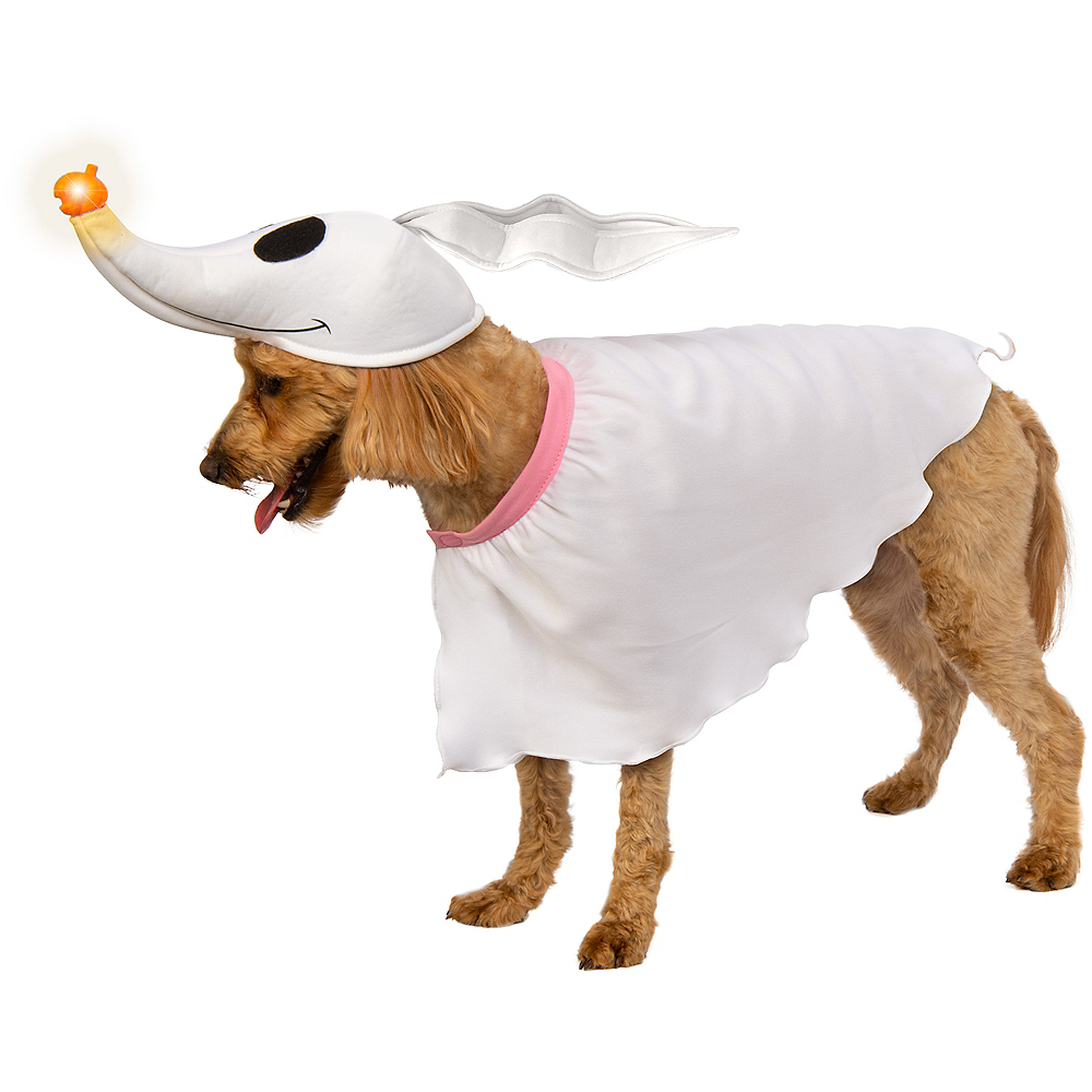 Light-Up Zero Dog Costume - Nightmare Before Christmas Image #1