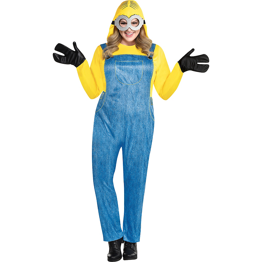 Nav Item for Womens Minion Costume Plus Size - Minions 2 Image #1