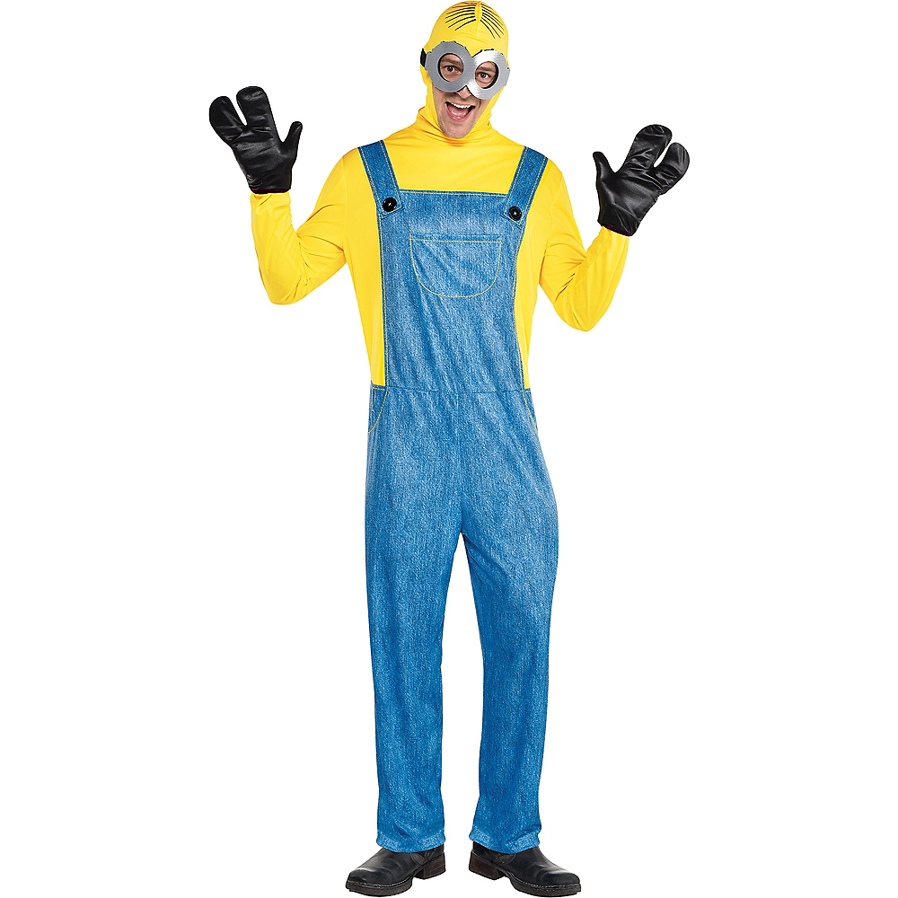 Mens Minion Costume - Minions 2 Image #1