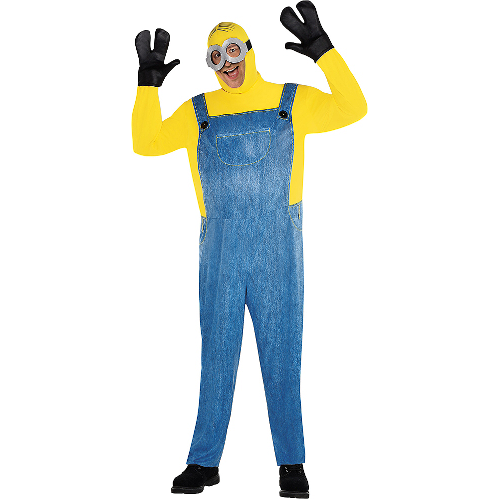 Mens Minion Costume Plus Size - Minions 2 Image #1