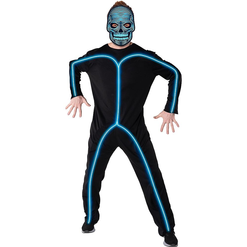 Adult Light-Up Skeleton Accessory Kit Image #1
