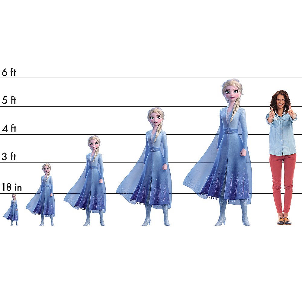 Nav Item for Elsa Standee - Frozen 2 Image #2