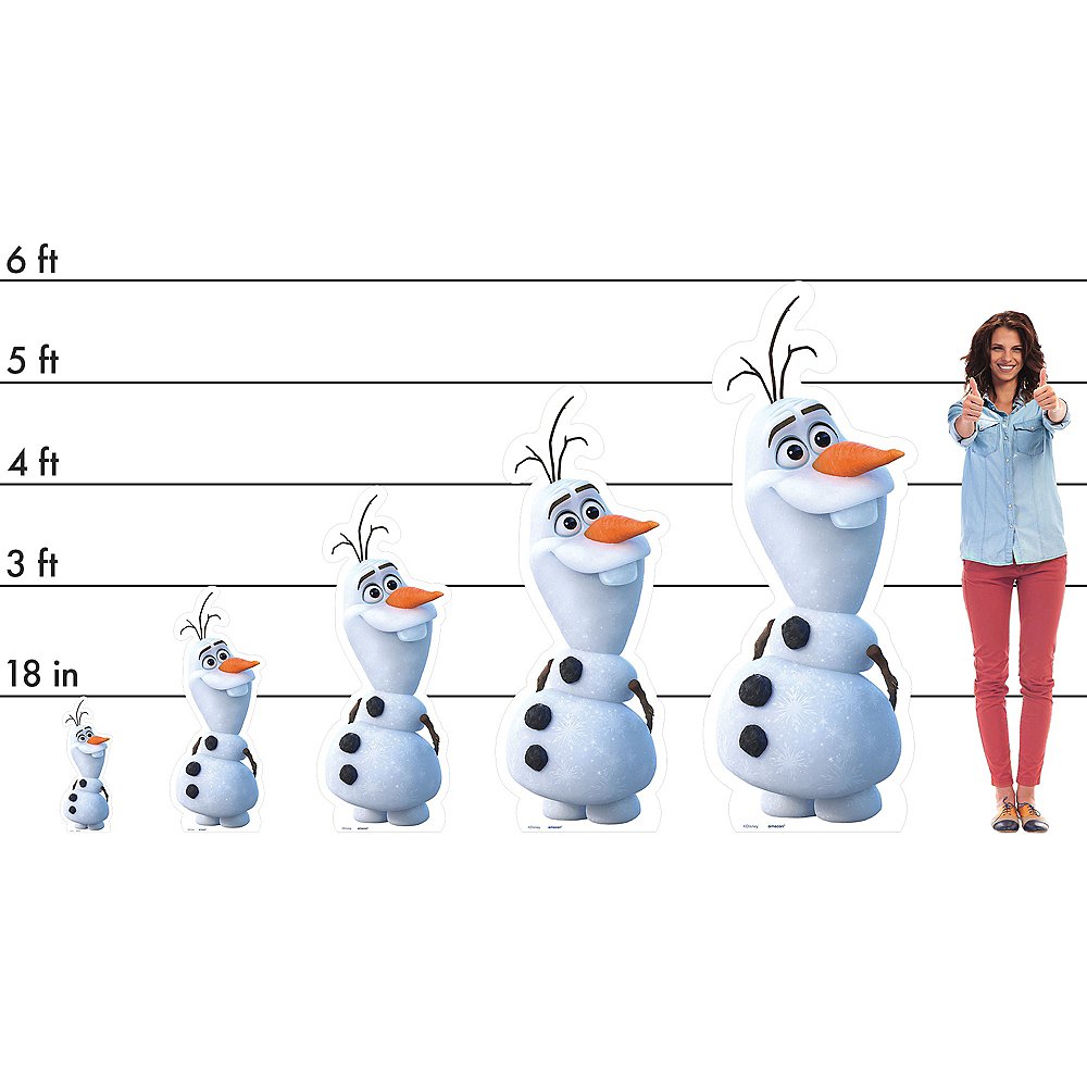 Nav Item for Olaf Standee - Frozen 2 Image #2